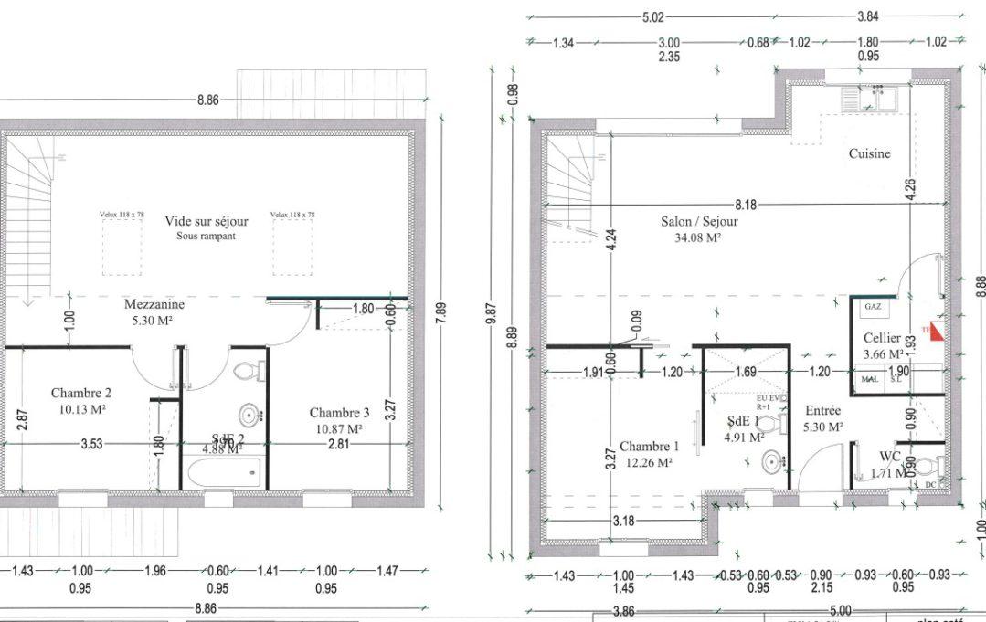 Maison à étage - 09 Mar 2015